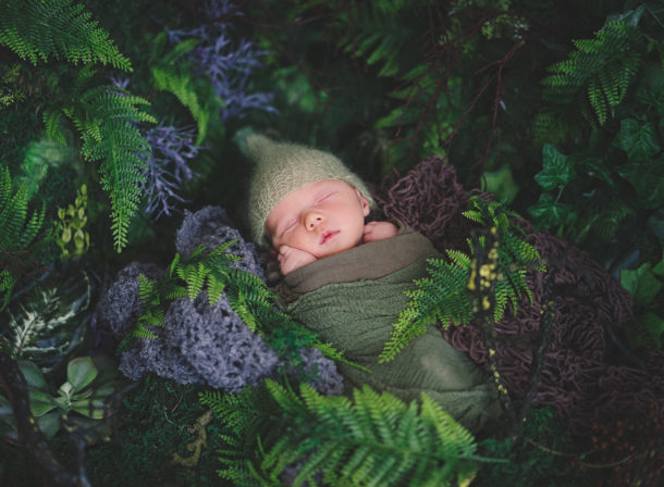 fotografie novorozence